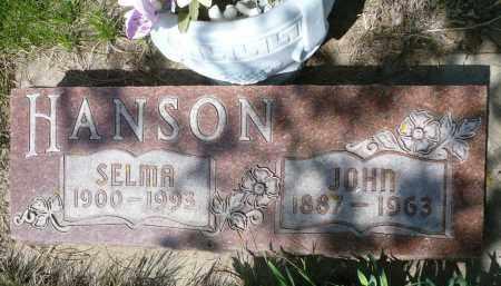 HANSON, JOHN - Minnehaha County, South Dakota | JOHN HANSON - South Dakota Gravestone Photos