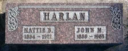 BURLINGHAM HARLAN, MATTIE - Minnehaha County, South Dakota | MATTIE BURLINGHAM HARLAN - South Dakota Gravestone Photos