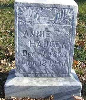 HAUGEN, ANNIE - Minnehaha County, South Dakota | ANNIE HAUGEN - South Dakota Gravestone Photos
