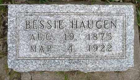 HAUGEN, BESSIE - Minnehaha County, South Dakota | BESSIE HAUGEN - South Dakota Gravestone Photos