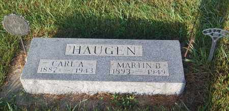 HAUGEN, CARL A. - Minnehaha County, South Dakota | CARL A. HAUGEN - South Dakota Gravestone Photos
