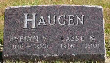 HAUGEN, LASSE M. - Minnehaha County, South Dakota | LASSE M. HAUGEN - South Dakota Gravestone Photos