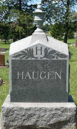 HAUGEN, FAMILY MARKER - Minnehaha County, South Dakota | FAMILY MARKER HAUGEN - South Dakota Gravestone Photos