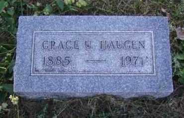 HAUGEN, GRACE U. - Minnehaha County, South Dakota | GRACE U. HAUGEN - South Dakota Gravestone Photos