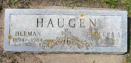HAUGEN, HERMAN - Minnehaha County, South Dakota | HERMAN HAUGEN - South Dakota Gravestone Photos