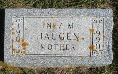 HAUGEN, INEZ M. - Minnehaha County, South Dakota | INEZ M. HAUGEN - South Dakota Gravestone Photos