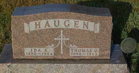 HAUGEN, THOMAS O. - Minnehaha County, South Dakota | THOMAS O. HAUGEN - South Dakota Gravestone Photos