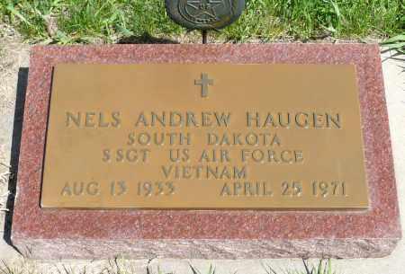 HAUGEN, NELS ANDREW (VIETNAM) - Minnehaha County, South Dakota   NELS ANDREW (VIETNAM) HAUGEN - South Dakota Gravestone Photos