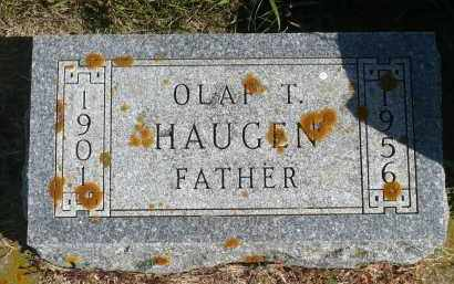 HAUGEN, OLAF T. - Minnehaha County, South Dakota | OLAF T. HAUGEN - South Dakota Gravestone Photos