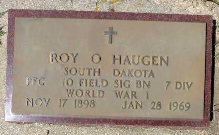 HAUGEN, ROY O. (WW I) - Minnehaha County, South Dakota | ROY O. (WW I) HAUGEN - South Dakota Gravestone Photos