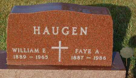 HAUGEN, FAYE A. - Minnehaha County, South Dakota | FAYE A. HAUGEN - South Dakota Gravestone Photos