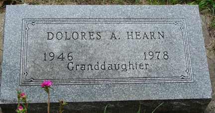HEARN, DOLORES A. - Minnehaha County, South Dakota | DOLORES A. HEARN - South Dakota Gravestone Photos