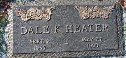 HEATER, DALE K. - Minnehaha County, South Dakota | DALE K. HEATER - South Dakota Gravestone Photos