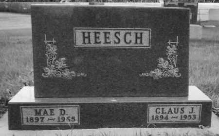 HEESCH, CLAUS JACOB - Minnehaha County, South Dakota | CLAUS JACOB HEESCH - South Dakota Gravestone Photos