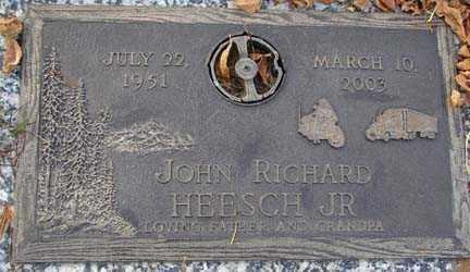 HEESCH, JOHN RICHARD JR. - Minnehaha County, South Dakota | JOHN RICHARD JR. HEESCH - South Dakota Gravestone Photos