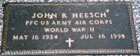 HEESCH, JOHN RICHARD (WWII) - Minnehaha County, South Dakota | JOHN RICHARD (WWII) HEESCH - South Dakota Gravestone Photos
