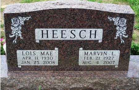 HEESCH, LOIS MAE - Minnehaha County, South Dakota | LOIS MAE HEESCH - South Dakota Gravestone Photos