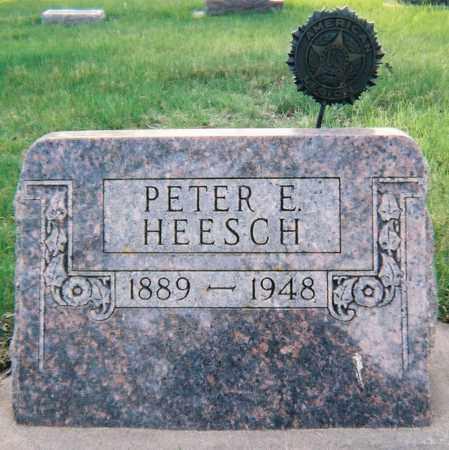 HEESCH, PETER EDWARD - Minnehaha County, South Dakota | PETER EDWARD HEESCH - South Dakota Gravestone Photos