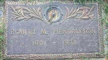 HENDRIXSON, ROBERT M. - Minnehaha County, South Dakota | ROBERT M. HENDRIXSON - South Dakota Gravestone Photos