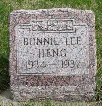 HENG, BONNIE LEE - Minnehaha County, South Dakota | BONNIE LEE HENG - South Dakota Gravestone Photos
