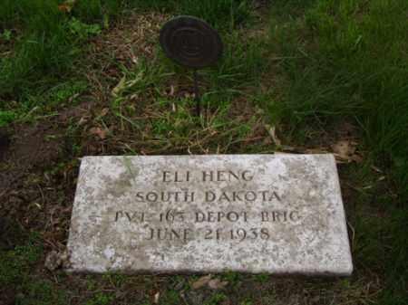 HENG, ELI - Minnehaha County, South Dakota   ELI HENG - South Dakota Gravestone Photos