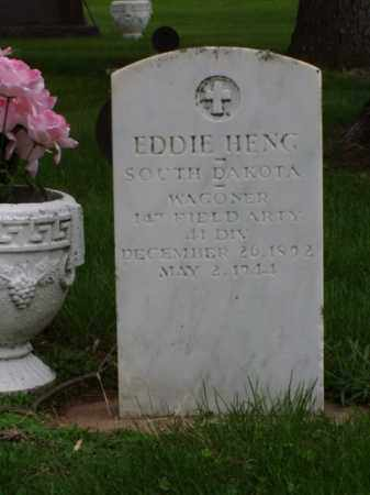 HENG, EDDIE - Minnehaha County, South Dakota   EDDIE HENG - South Dakota Gravestone Photos