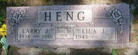 HENG, LARRY J. - Minnehaha County, South Dakota | LARRY J. HENG - South Dakota Gravestone Photos