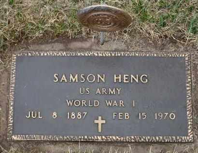 HENG, SAMSON (WWI) - Minnehaha County, South Dakota | SAMSON (WWI) HENG - South Dakota Gravestone Photos