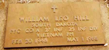 HILL, WILLIAM LEO (VIETNAM) - Minnehaha County, South Dakota   WILLIAM LEO (VIETNAM) HILL - South Dakota Gravestone Photos