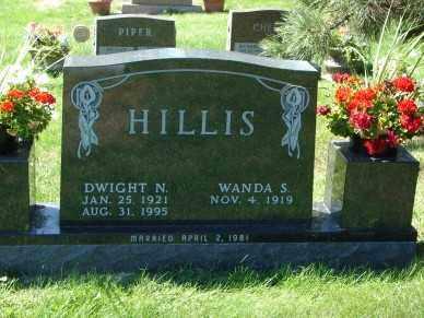 HILLIS, DWIGHT N. - Minnehaha County, South Dakota | DWIGHT N. HILLIS - South Dakota Gravestone Photos
