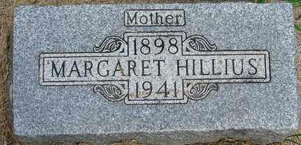 HILLIUS, MARGARET - Minnehaha County, South Dakota | MARGARET HILLIUS - South Dakota Gravestone Photos