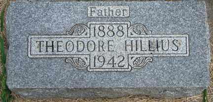 HILLIUS, THEODORE - Minnehaha County, South Dakota | THEODORE HILLIUS - South Dakota Gravestone Photos