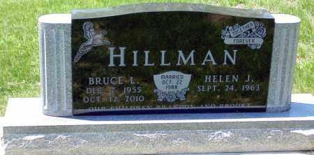 HILLMAN, BRUCE LAVERNE - Minnehaha County, South Dakota | BRUCE LAVERNE HILLMAN - South Dakota Gravestone Photos