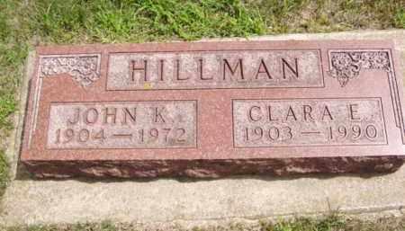 HILLMAN, JOHN K. - Minnehaha County, South Dakota | JOHN K. HILLMAN - South Dakota Gravestone Photos