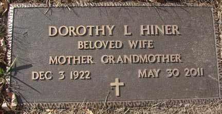 JOHNSON HINER, DOROTHY LOUISE - Minnehaha County, South Dakota | DOROTHY LOUISE JOHNSON HINER - South Dakota Gravestone Photos