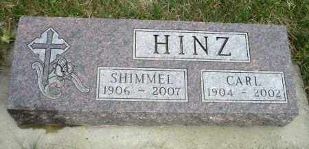 HINZ, SHIMMEL - Minnehaha County, South Dakota | SHIMMEL HINZ - South Dakota Gravestone Photos