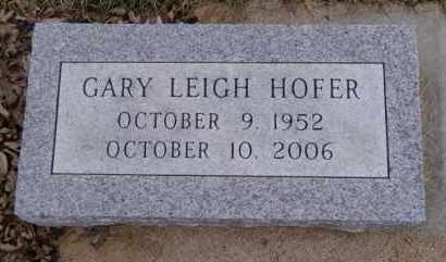 HOFER, GARY LEIGH - Minnehaha County, South Dakota | GARY LEIGH HOFER - South Dakota Gravestone Photos