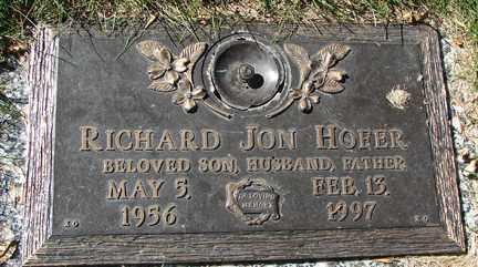 HOFER, RICHARD JON - Minnehaha County, South Dakota | RICHARD JON HOFER - South Dakota Gravestone Photos