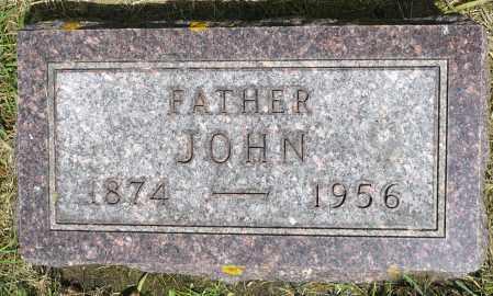 HOFF, JOHN - Minnehaha County, South Dakota   JOHN HOFF - South Dakota Gravestone Photos