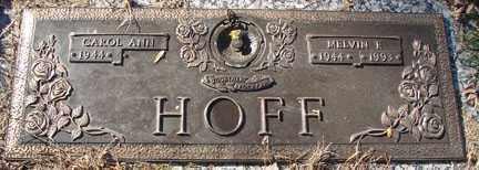 HOFF, MELVIN F. - Minnehaha County, South Dakota | MELVIN F. HOFF - South Dakota Gravestone Photos