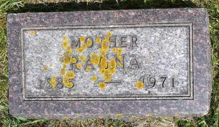 HOFF, RAGNA - Minnehaha County, South Dakota | RAGNA HOFF - South Dakota Gravestone Photos