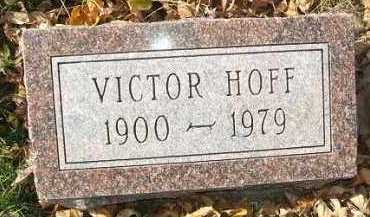 HOFF, VICTOR - Minnehaha County, South Dakota | VICTOR HOFF - South Dakota Gravestone Photos