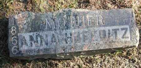 HOFEDITZ, ANNA - Minnehaha County, South Dakota   ANNA HOFEDITZ - South Dakota Gravestone Photos