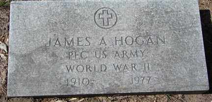 HOGAN, JAMES A. - Minnehaha County, South Dakota | JAMES A. HOGAN - South Dakota Gravestone Photos