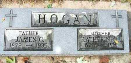 HOGAN, JAMES C. - Minnehaha County, South Dakota | JAMES C. HOGAN - South Dakota Gravestone Photos