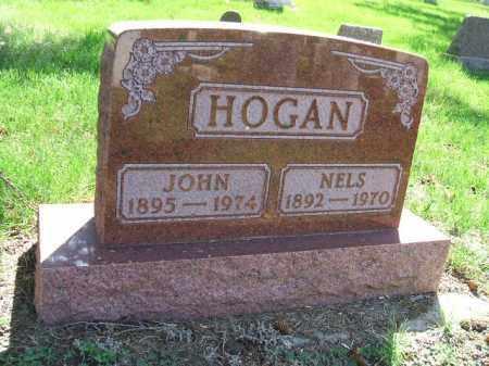 HOGAN, NELS - Minnehaha County, South Dakota | NELS HOGAN - South Dakota Gravestone Photos