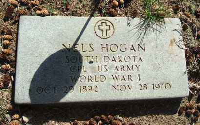 HOGAN, NELS (WWI) - Minnehaha County, South Dakota | NELS (WWI) HOGAN - South Dakota Gravestone Photos