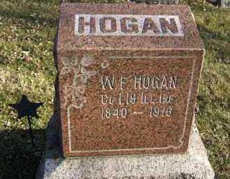 HOGAN, W. F. - Minnehaha County, South Dakota   W. F. HOGAN - South Dakota Gravestone Photos