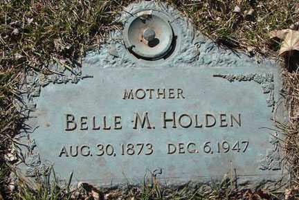 HOLDEN, BELLE M. - Minnehaha County, South Dakota | BELLE M. HOLDEN - South Dakota Gravestone Photos