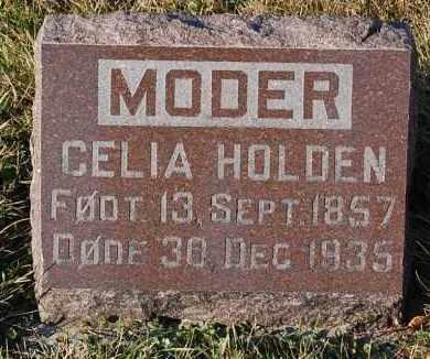 HOLDEN, CELIA - Minnehaha County, South Dakota | CELIA HOLDEN - South Dakota Gravestone Photos